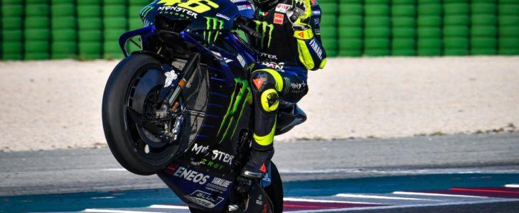 Έκπληκτος ο Rossi με τον ρυθμό της Yamaha στο Misano
