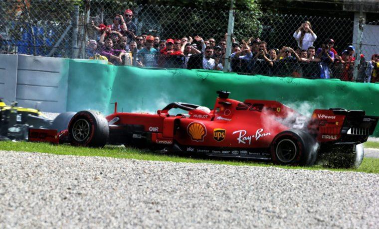 Απειλείται με race ban o Vettel μετά το συμβάν της Monza