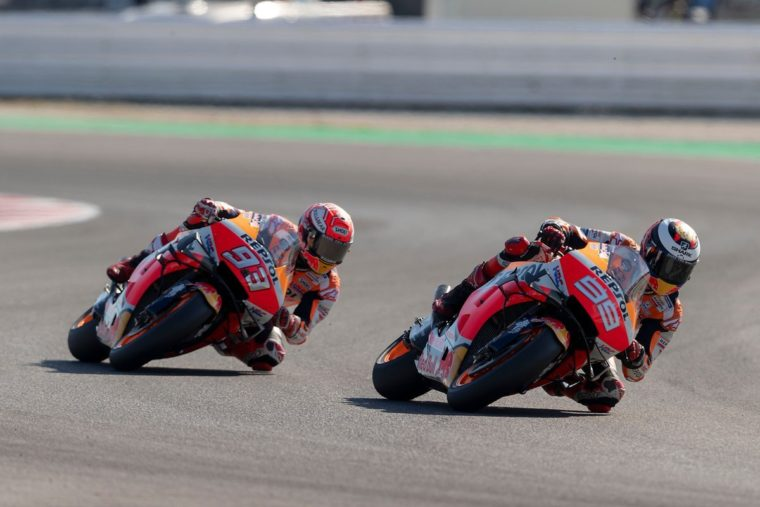Lorenzo: «Η Honda εξέλιξε τη μοτοσυκλέτα πάνω στον Marquez»