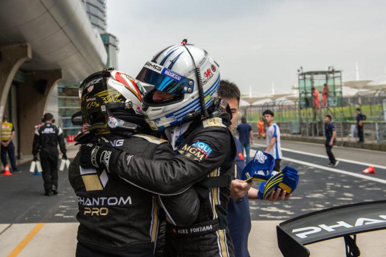 Πρωταθλητής στο China GT Championship o Alex Fontana