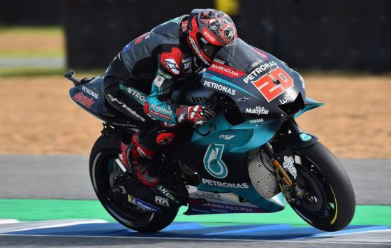 GP Ταϊλάνδης QP: Πτώση και pole position για Quartararo