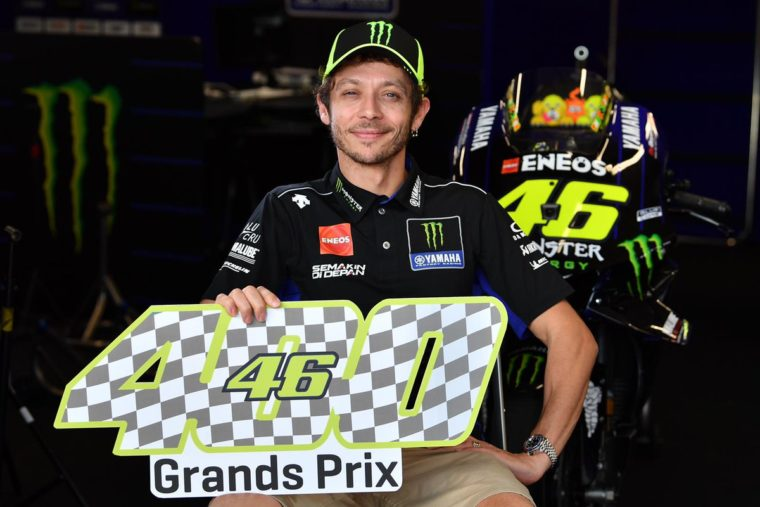 O Rossi μιλάει για το 400ο του Grand Prix