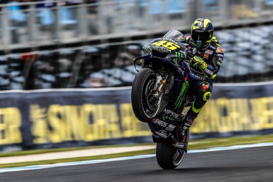 Χαρούμενος ο Rossi παρά τη 4η θέση