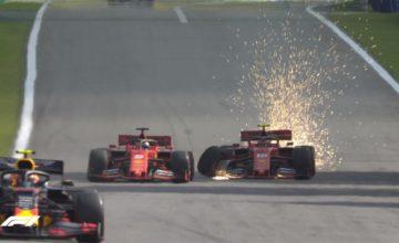 GP Βραζιλίας: Η σύγκρουση των δύο Ferrari (video)
