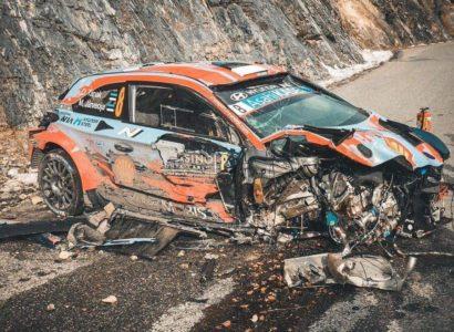Βίντεο: Το τρομακτικό ατύχημα του Ott Tanak στο Rally Monte-Carlo