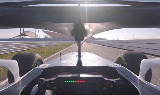 Video: Από τα μάτια του οδηγού της Alpha Tauri στο shakedown της Mercedes