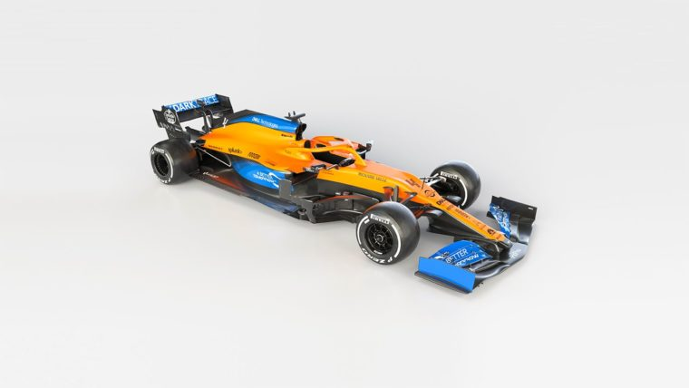 H McLaren αποκάλυψε τη νέα MCL35 (photos)