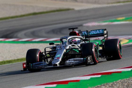 Δοκιμές Βαρκελώνης D3, απόγευμα: 1-2 και επίδειξη δύναμης από Mercedes