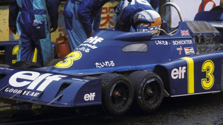 Tyrrell  P34 – Όταν οι τέσσερις τροχοί δεν ήταν αρκετοί