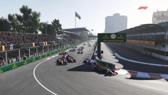 Δράση, θέαμα και ποινές στο GP του Αζερμπαϊτζάν για το Ελληνικό Πρωτάθλημα F1