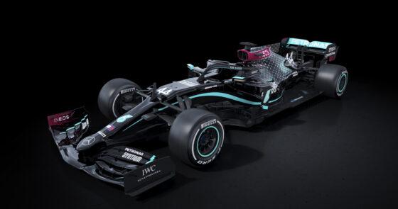 Η Mercedes αποκάλυψε νέο χρωματισμό στο μονοθέσιο του 2020 με στόχο τη καταπολέμηση του ρατσισμού