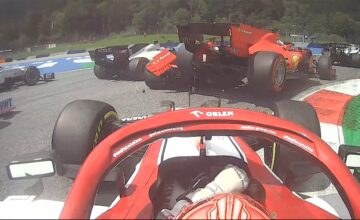 Video: Δείτε την σύγκρουση ανάμεσα στους Leclerc και Vettel