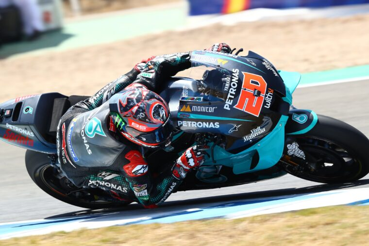 GP Ανδαλουσίας QP: Δεύτερη σερί pole για Quartararo – Εκτός αγώνα ο Marquez
